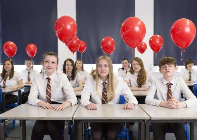 Drama pupils from the Pauline Quirke Academy star in Persianmonkeys Balloon.