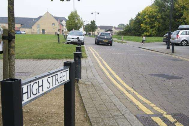 High Street, Cambourne, is earmarked for development