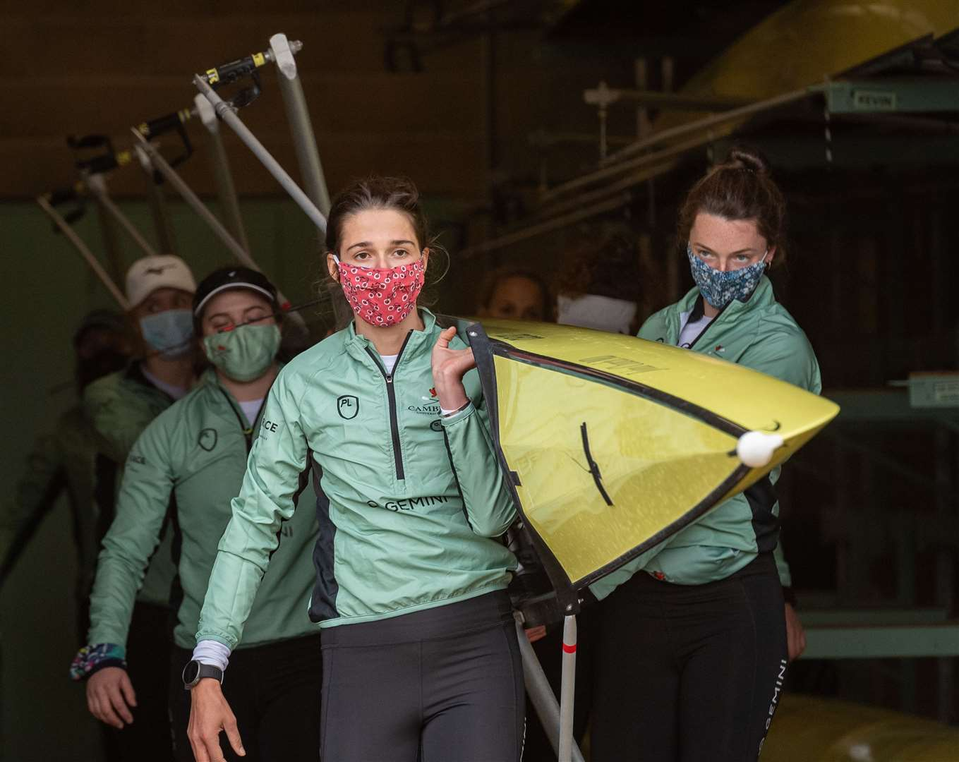 Adriana Perez Rotondo will be in the bow seat for Cambridge University in the 75th Women's Boat Race. Picture: Keith Heppell