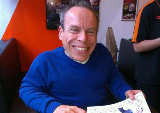 Warwick Davis and his wife Samantha were guests at the new Nacro education centre in Spalding. (21825505)