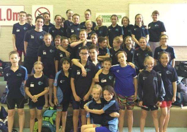 City of Cambridge Swimmming Club at the M11 Junior League