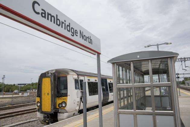 Trains delayed at Cambridge due to power line failure. Picture: Keith Heppell