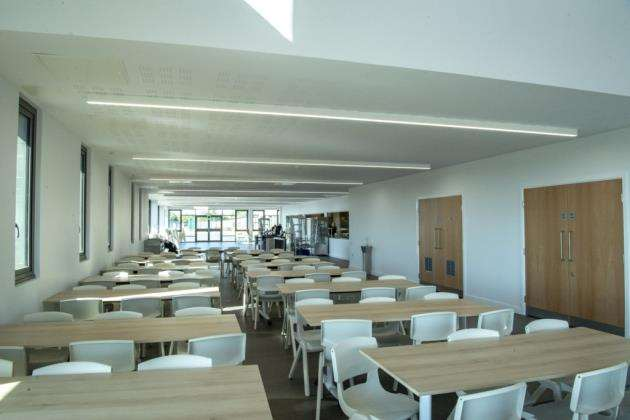 Some of the new facilities at the village college. Picture: Keith Heppell