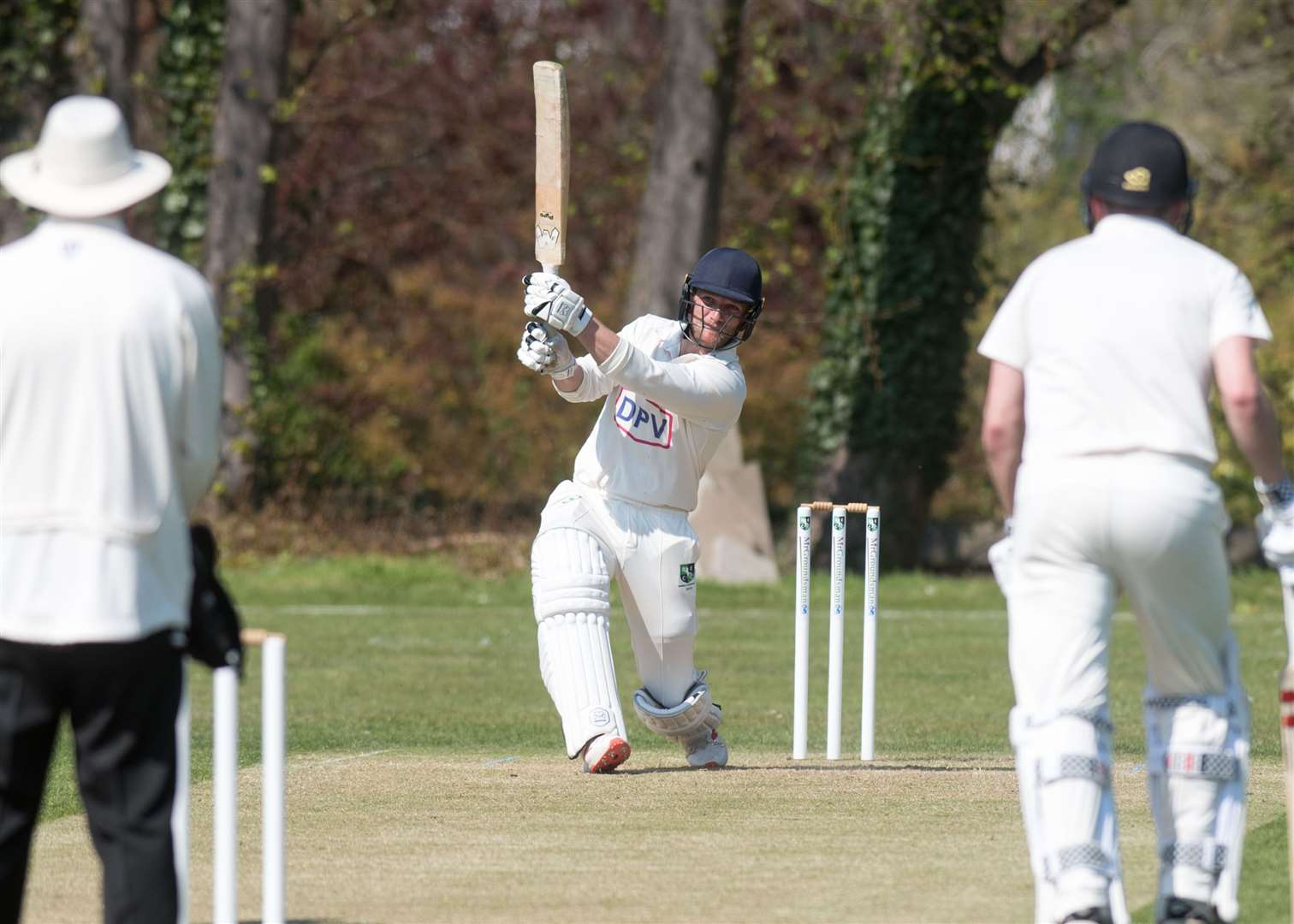Sam Rippington was in good form with the bat for Burwell & Exning. Picture: Mark Westley