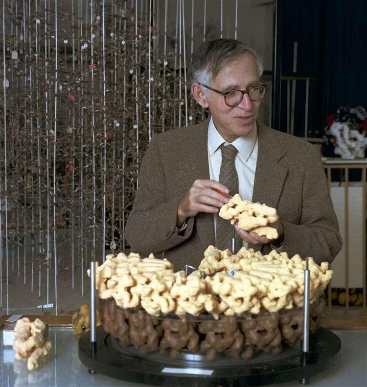 Nobel Prize winner Aaron Klug. Picture: MRC LMB (5725306)