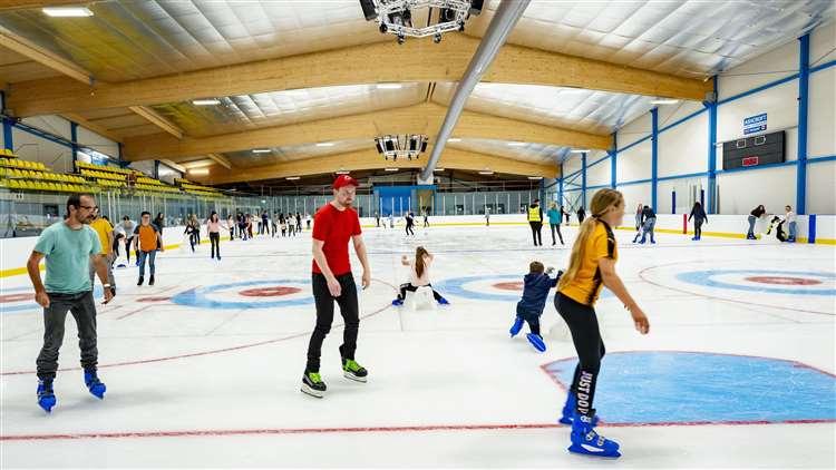 Gallery: Cambridge Ice Arena opens its doors to the public