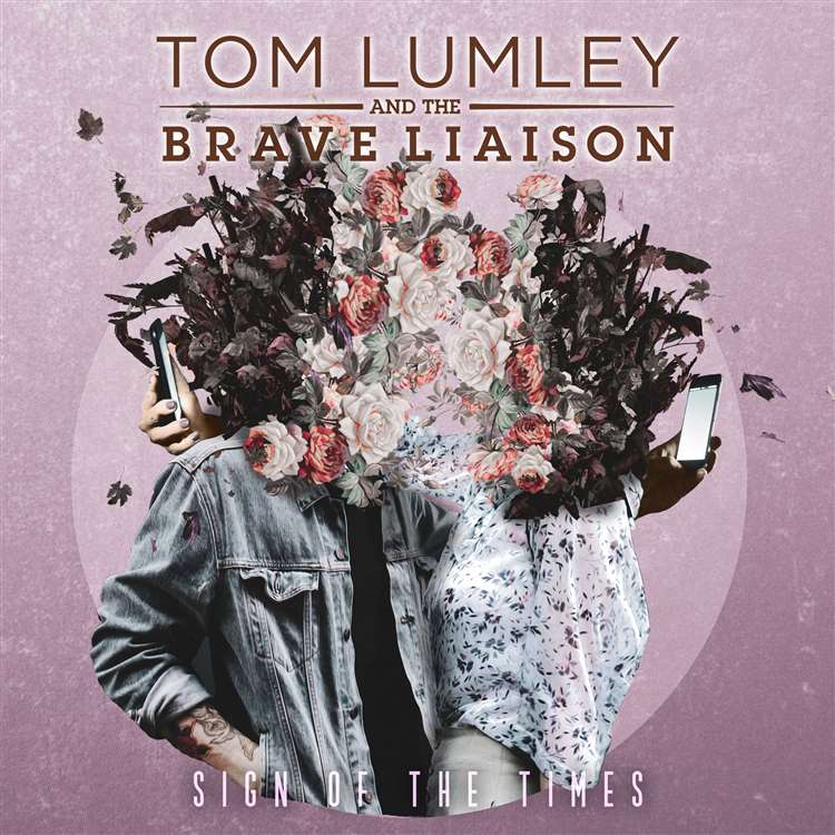 Tom Lumley & the Brave Liaison - the cover of the EP