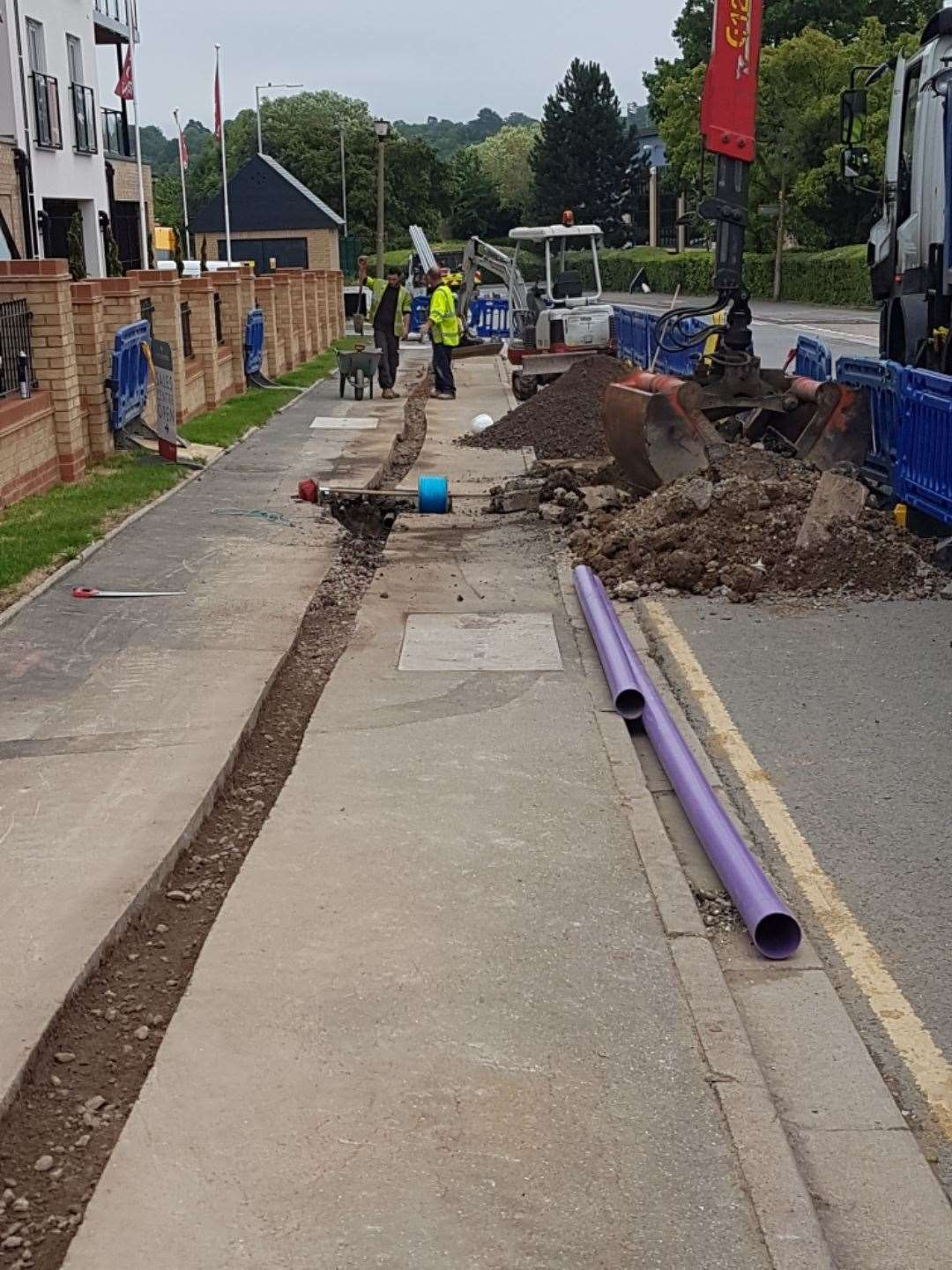 Micro-trenching is being used in Cambridge to make the city one of the best-connected in the UK