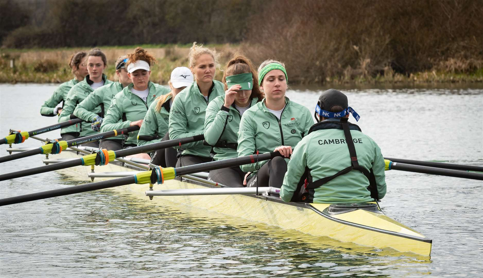 Cambridge University Boat Club women's crew. Picture: Keith Heppell