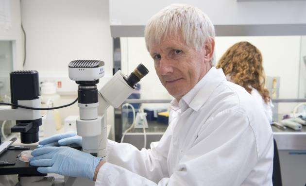 Professor Graham Burton, of the Centre for Trophoblast Research. Picture: Keith Heppell