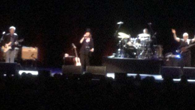 Suzanne Vega on stage at the Cambridge Corn Exchange. Picture: Adrian Peel