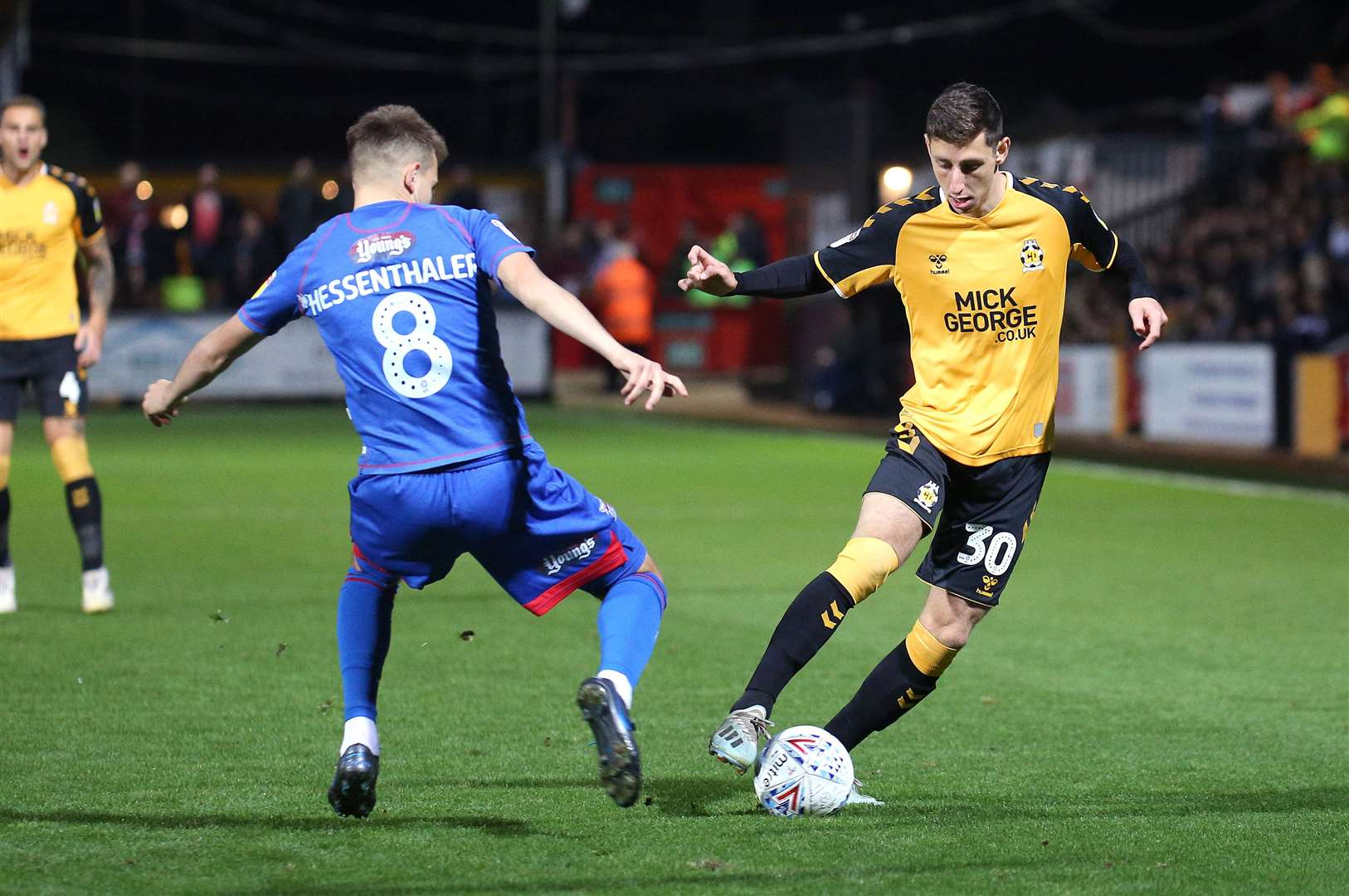 Jack Roles has made an impact at Cambridge United this season. Picture: Rich Marsham