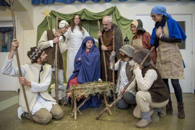 Cambridge Steiner Schools nativity. Picture: Keith Heppell