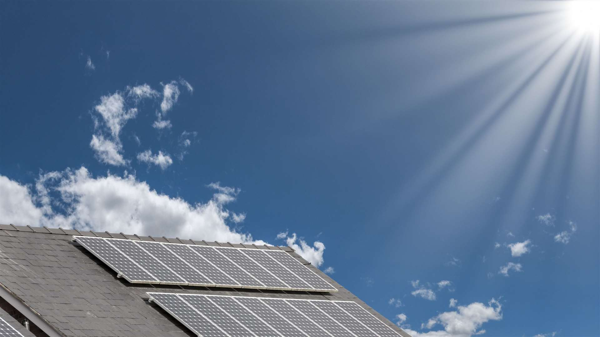 Solar panels can help reduce our demand on fossil fuels