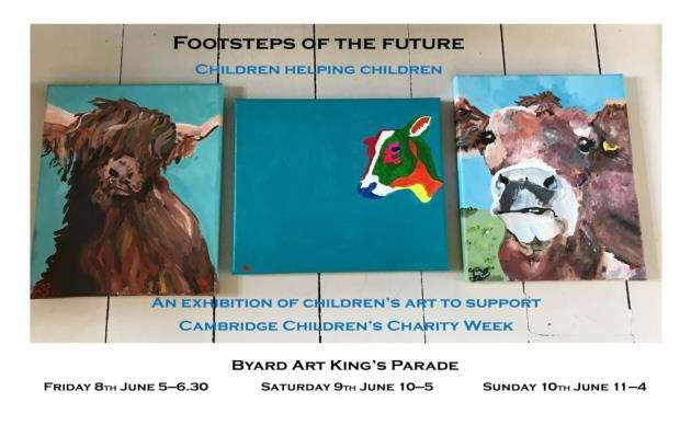 Your chance to support Cambridge Childrens Charity Week