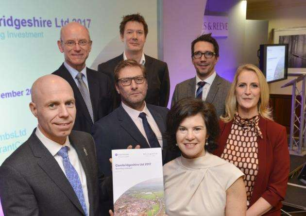 The Cambridgeshire Ltd report is launched at the Belfry in Cambourne