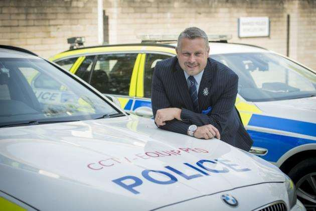 Jason Ablewhite, Cambridgeshire Police and Crime Commisioner, has backed plans by chief constable Alec Wood to put 50 more officers on the frontline. Picture: Keith Heppell