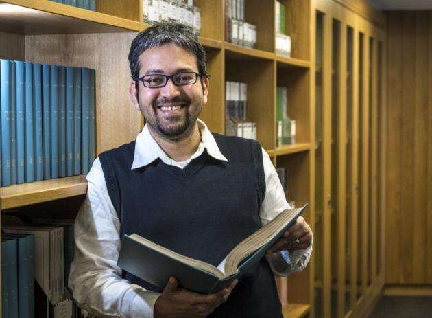 Dr M Madan Babus work at the LMB in Cambridge combines many disciplines. Picture: Keith Heppell
