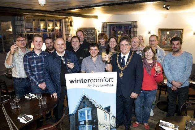 Wintercomfort Christmas Appeal Launch event at St Johns Chophouse, 21-24 Northampton St, Cambridge. Picture: Keith Heppell