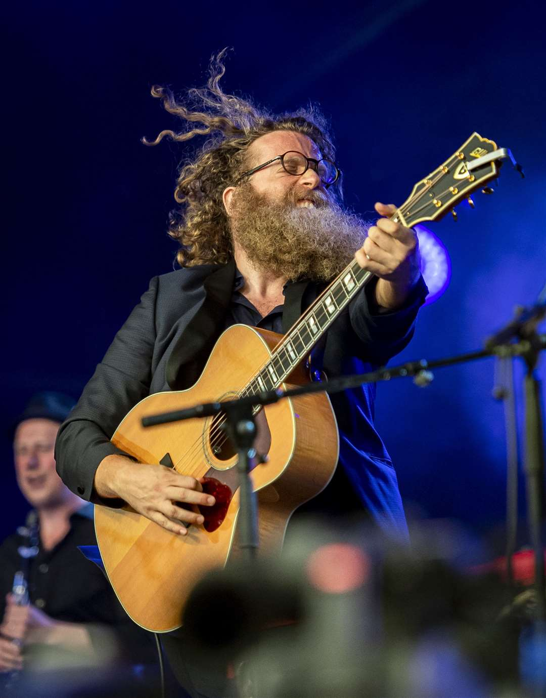 Cambridge Folk Festival 2019, Ben Caplan on stage one. Picture: Keith Heppell. (15663709)