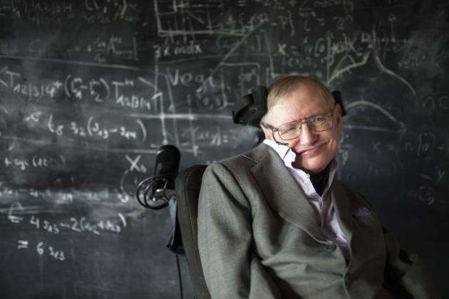 Professor Stephen Hawking in March 2015. Picture: Andre Pattenden