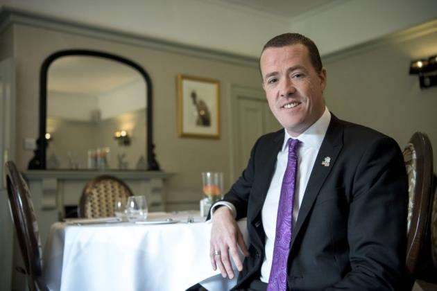 Tony Murdock is general manager at Quy Mill Hotel & Spa. Picture: Keith Heppell