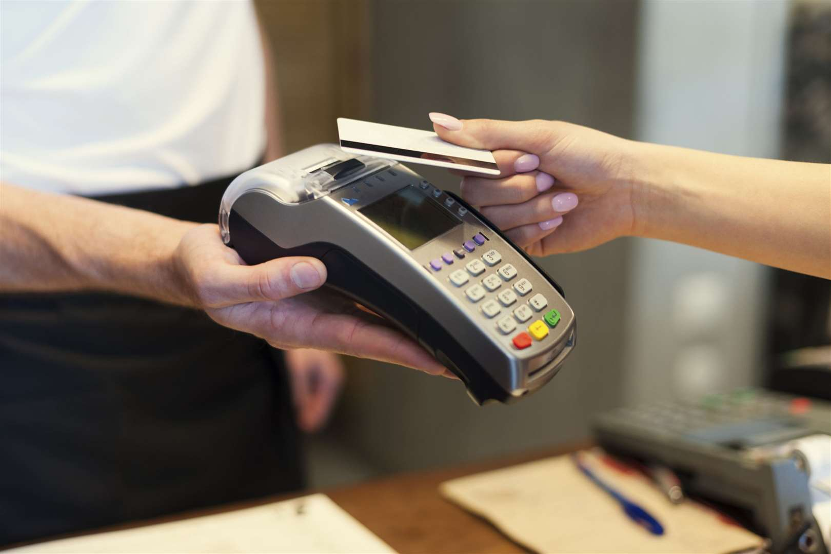The contactless payment limit rose from £30 to £45 on April 1 - but is it enough? Picture: PA Photo/thinkstockphotos