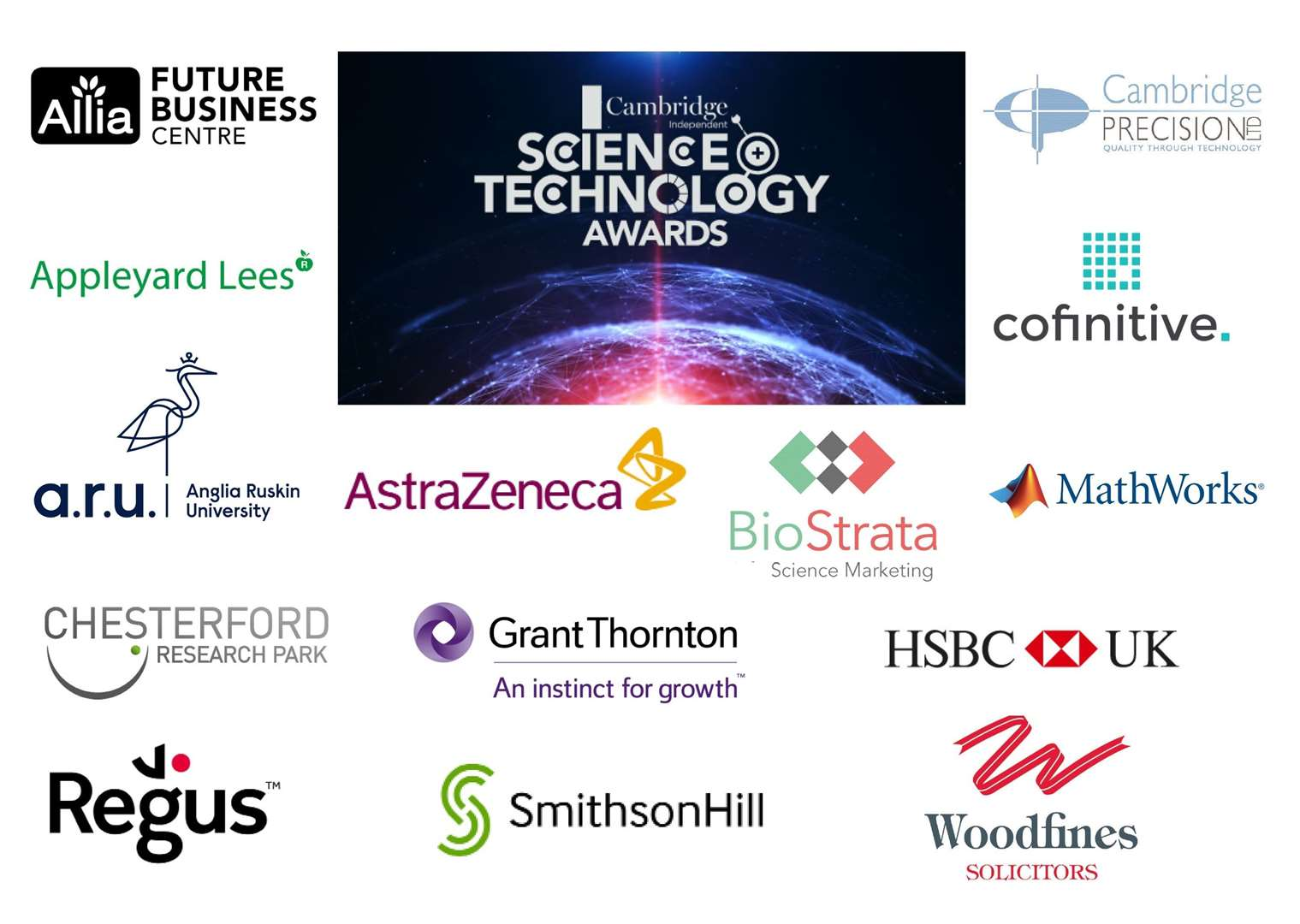 The sponsors of the 2019 Cambridge Independent Science and Technology Awards (13437784)