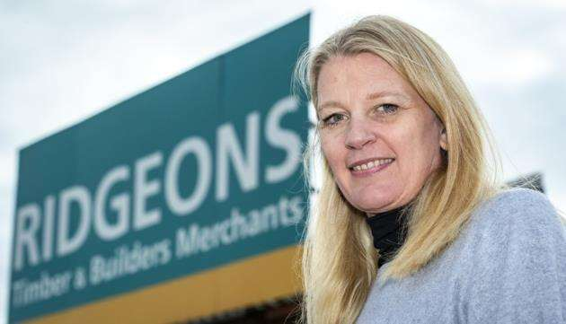 HR director Su Britter at Ridgeons. Picture: Keith Heppell