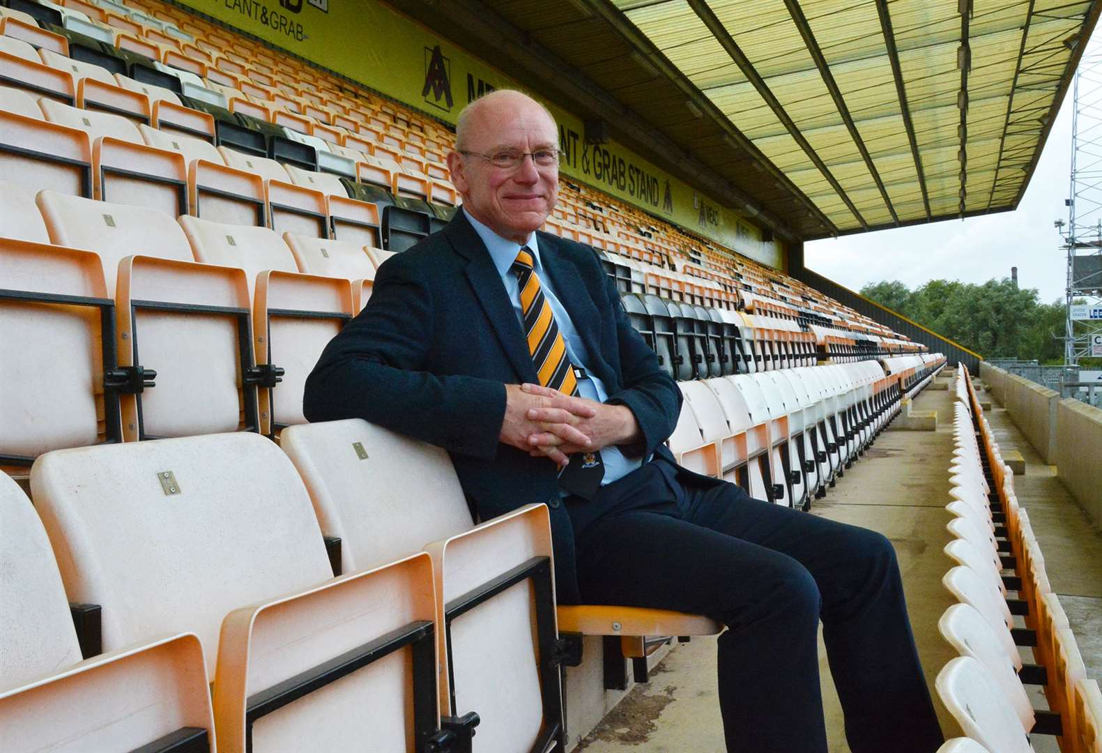 Cambridge United CEO Ian Mather. Picture: Cambridge United