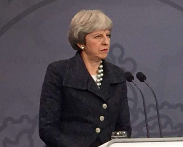 Prime Minsiter Theresa May will be in Cambridgeshire on Tuesday