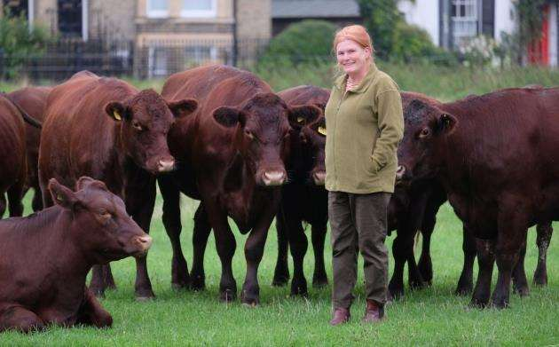 Angelika von Heimendahl has been shortlisted for the Beef Innovator 2018 title at the British Farming Awards. Picture: Richard Marsham