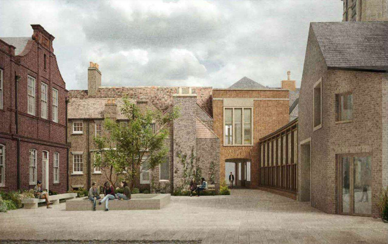 Kenmare Garden - part of the Pembroke College proposed development. Image: Haworth Tompkins (6926408)