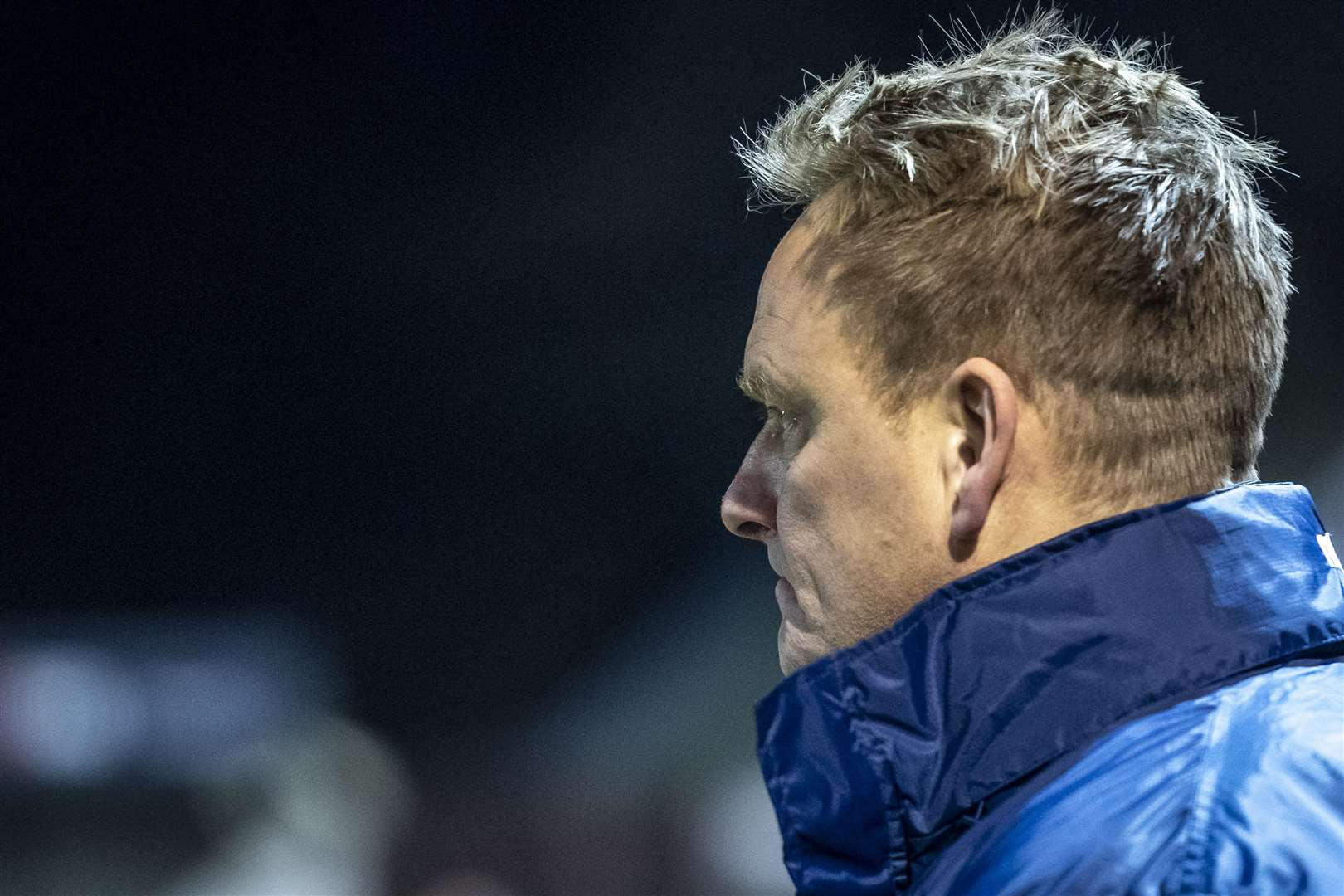 Histon manager Lance Key