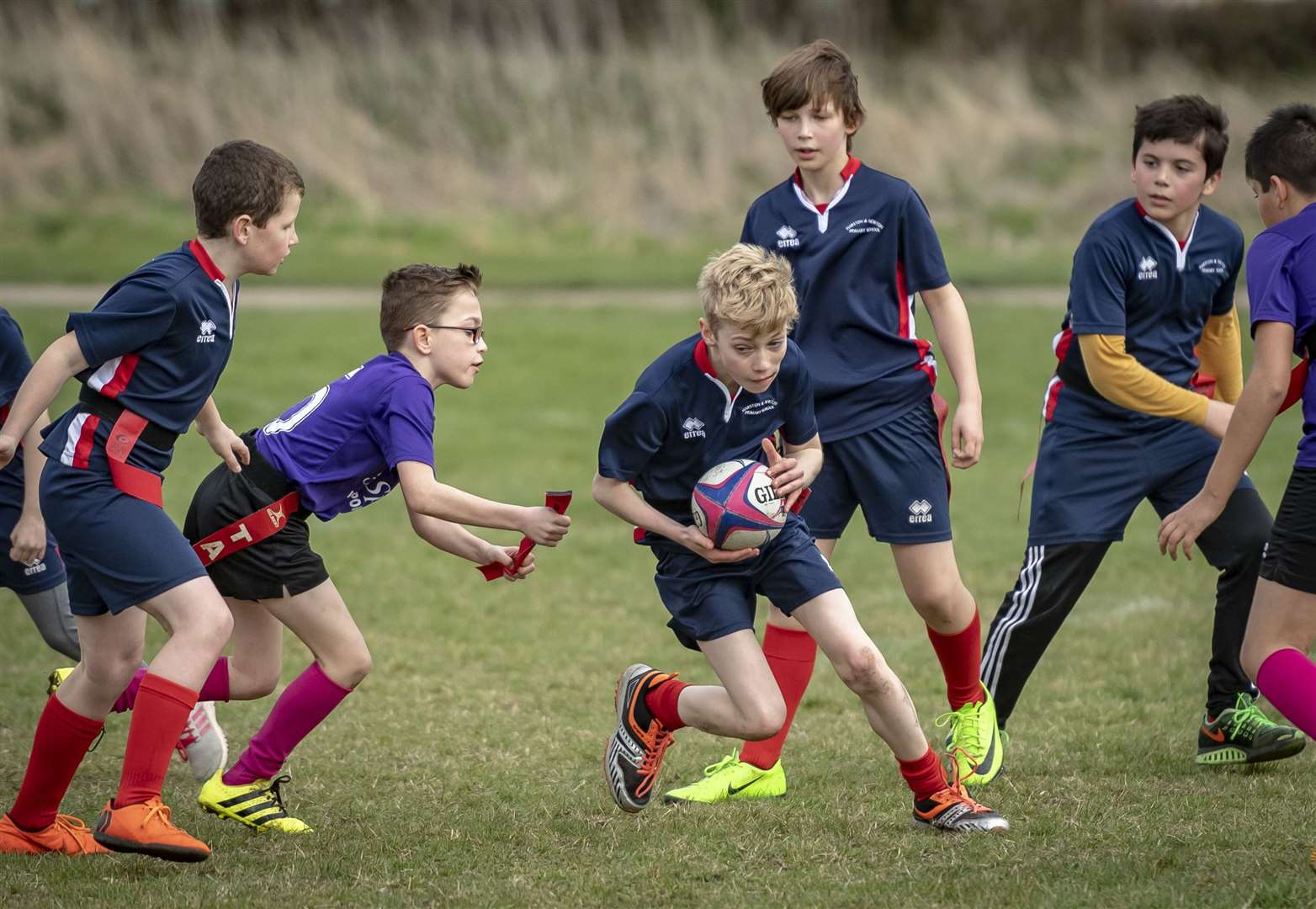 South Cambs SSP Tag Rugby, Cambridge Rugby Football Club, Grantchester Rd. Picture: Keith Heppell. (7974053)