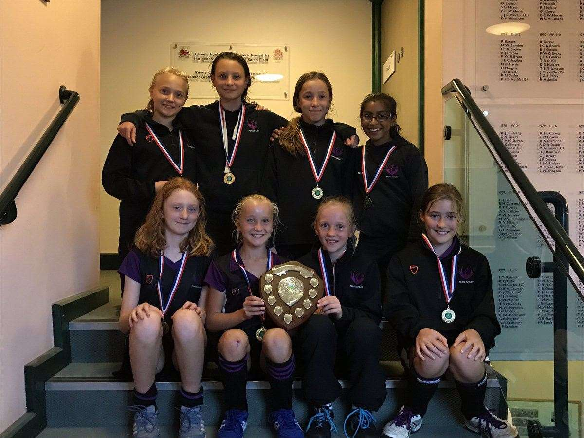 The Perse School under-12s hockey team, who won the Cambridgeshire Schools' crown. Picture: Aaron Mason (18745114)