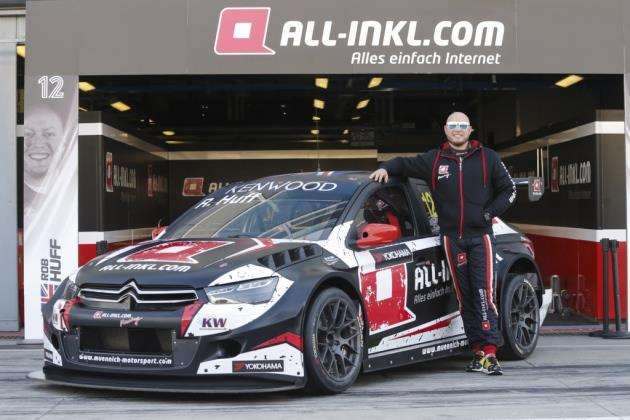 Rob Huff in the Citroen C Elysee team All Inkl.com Munnich Motorsport during the 2017 FIA WTCC World Touring Car Test at Monza. Picture: Francois Flamand / DPPI