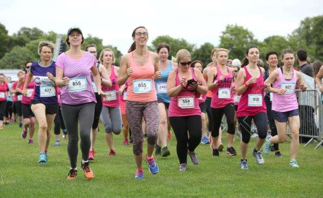 Race for Life 2017 in Cambridge. Picture: Richard Marsham