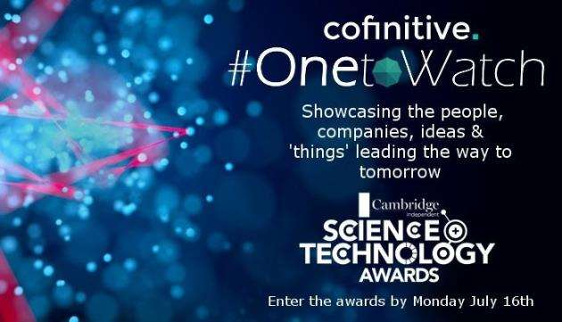 The One to Watch award is sponsored by Cofinitive
