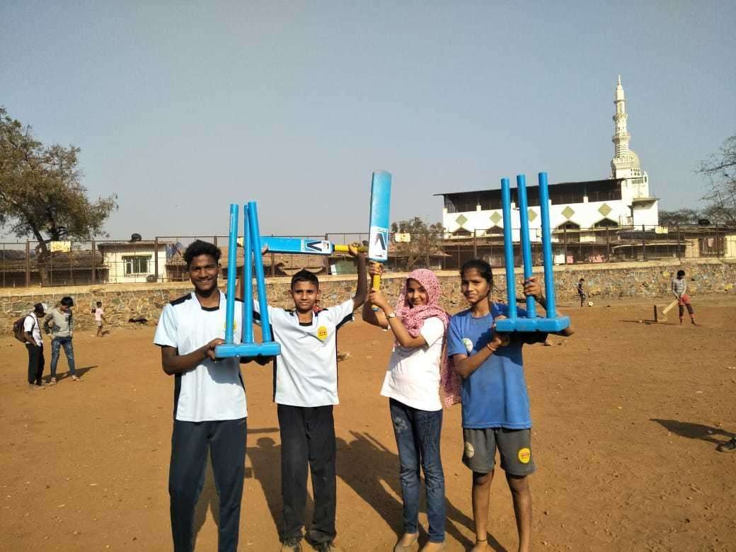 Team India South for the Street Child Cricket World Cup. Picture: Street Child United
