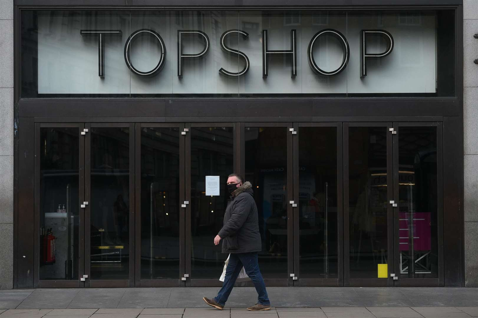 Topshop is owned by Arcadia