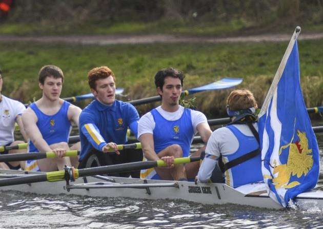 Lent bumps, Fen Ditton, M3 . Picture: Keith Heppell