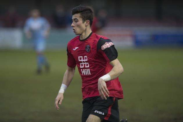 Danny Gould scored twice for Histon against Haverhill Rovers. Picture: Mark Hopkin