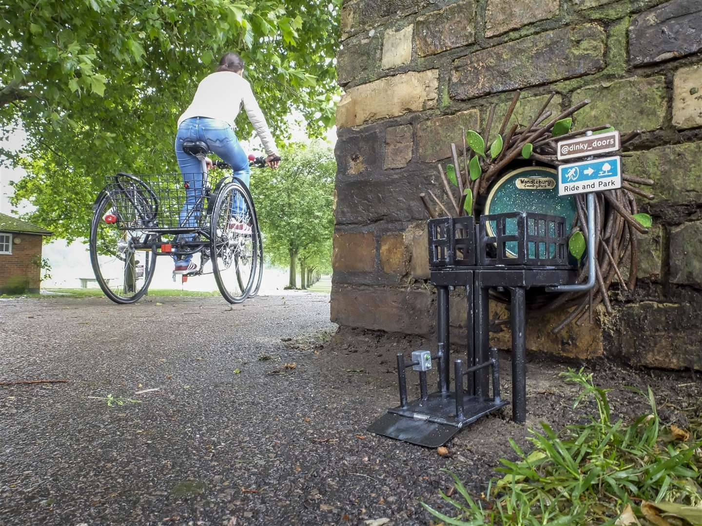 Dinky Doors new door at Jesus Lock. Picture: Keith Heppell. (12161395)
