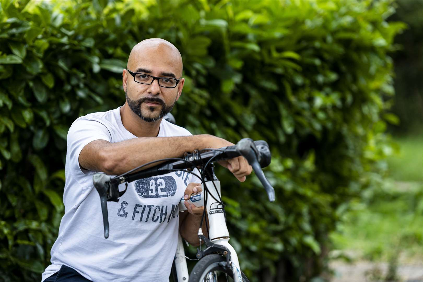 Omar Terywall, founder of the Stolen Bikes in Cambridge Facebook group. Picture: Keith Heppell