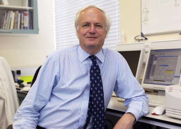 Professor Sir Christopher Dobson, of St Johns College, Cambridge