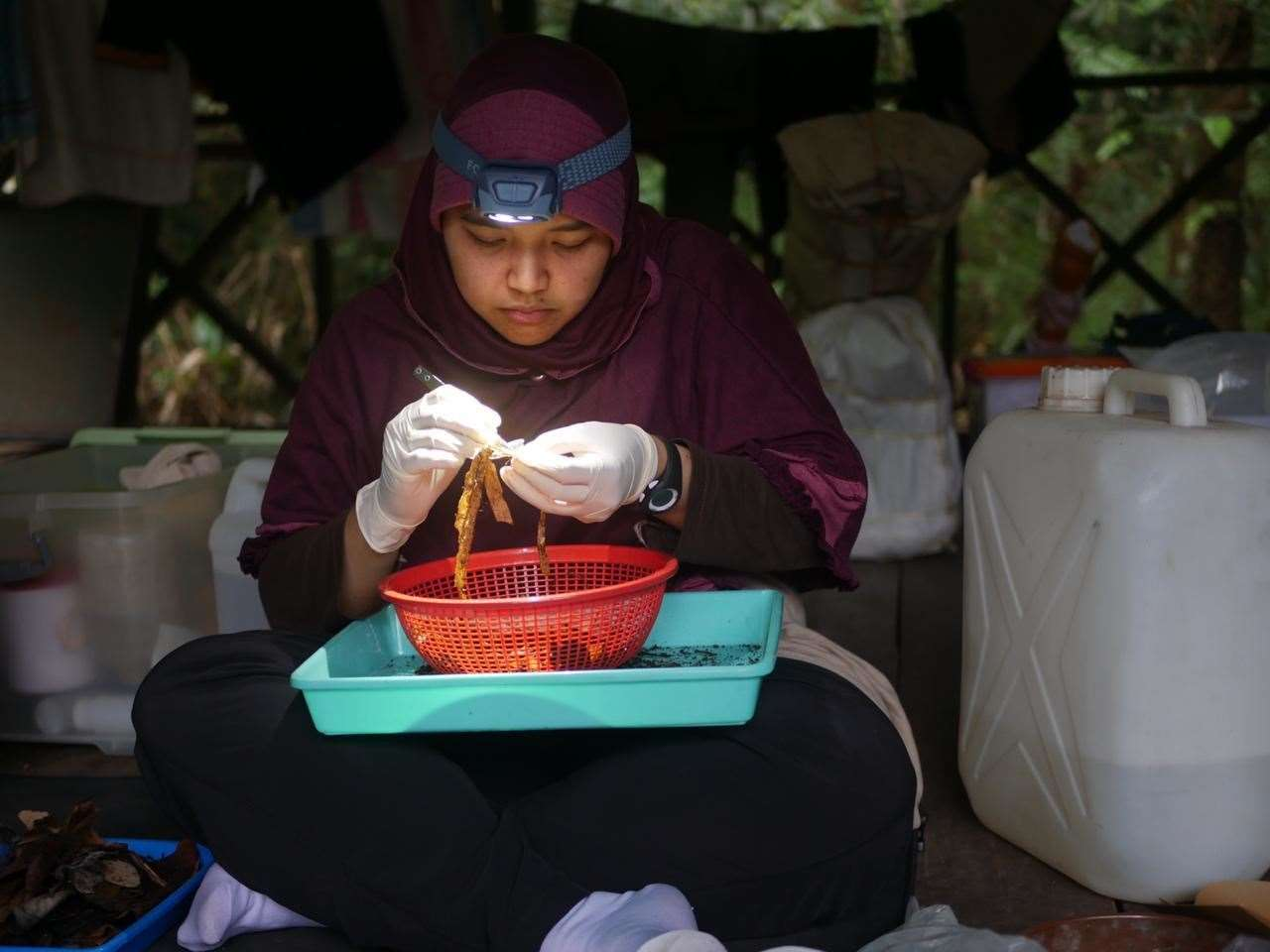Ayu Savitri Nurinsiyah, one of the winners of the first Tony Whitten Conservation Prize