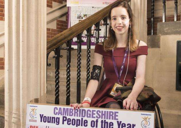 Lucy Stafford won a Yopey award thanks to herl Love Bundles idea