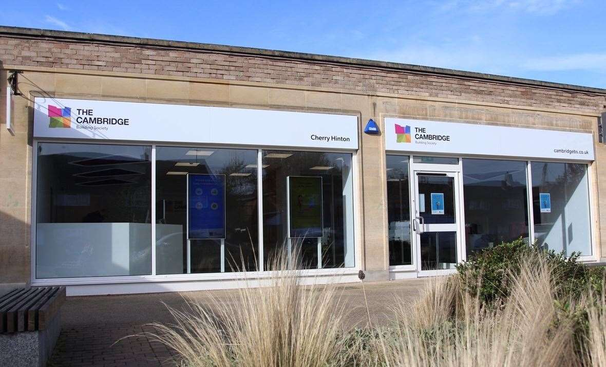 The Cambridge Building Society new Cherry Hinton store