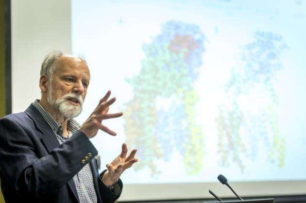 Prof Sir Hugh Pelham is retiring as director of MRC Laboratory of Molecular Biology. Picture: Keith Heppell